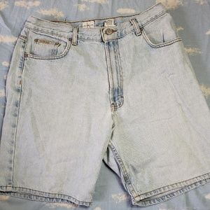 Vintage 90's Calvin Klein Heavy Wash Denim Shorts
